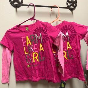 John Deere Shirts & Tops - 6x John Deere long sleeve T